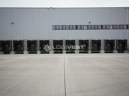 Projektierter Neubau einer Lager-und Logistikhalle an der A93