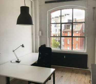 privates Büro 14qm im 500qm Co-Working-Space - keine Nebenkosten - monatlich kündbar