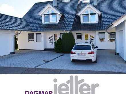 Traumhafte Doppelhaushälfte in herrlich ruhiger Lage von Rosenfeld-Isingen!