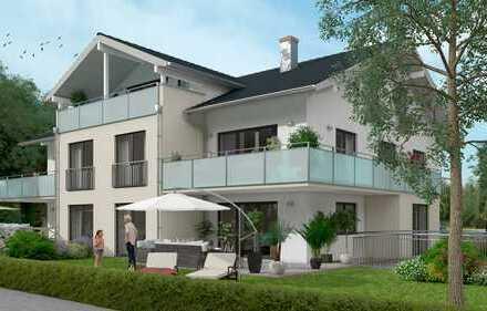 Exklusive 3-Zimmer-Obergeschosswohnung mit umlaufendem Terrassenbalkon