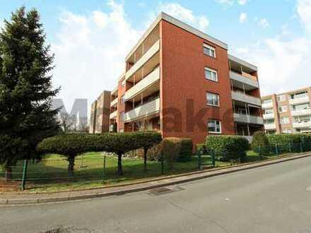 Vermietet, renoviert, zentrumsnah: 2,5-Zi.-ETW mit Balkon als Klein-Kapitalanlage
