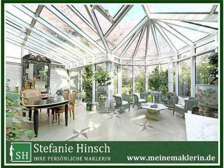 Besondere Jugendstilvilla mit Wintergarten und Kamin in Marienthal