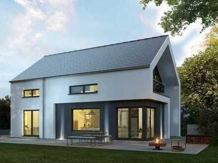 Modernes Architektenhaus am Rande von Berlin