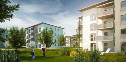 Moderne 3 Zimmer Neubauwohnung mit großem Balkon und hochwertige EBK (Siemens Geräte)