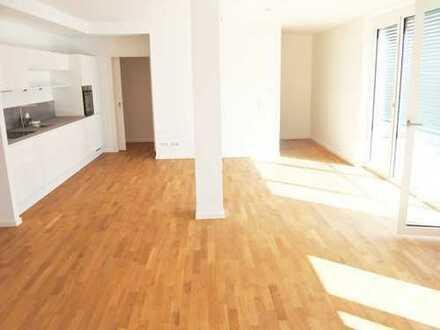 4-Raum Whg. mit Parkett, gr. Balkon, Lift, Fußbodenheizung, inkl. EBK, Stellplatz mgl.
