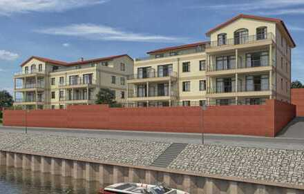 Penthouse 4-Raum-Wohnung Kleine Hafencity Tangermünde