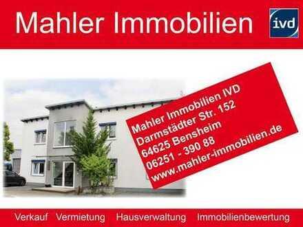 Repräsentatives Gewerbeobjekt mit Produktionshalle, Büro und Wohneinheit in Bensheim