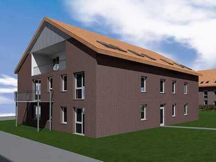 Attraktive Eigentumswohnung im Obergeschoss mit Balkon, Neubau / KfW-55