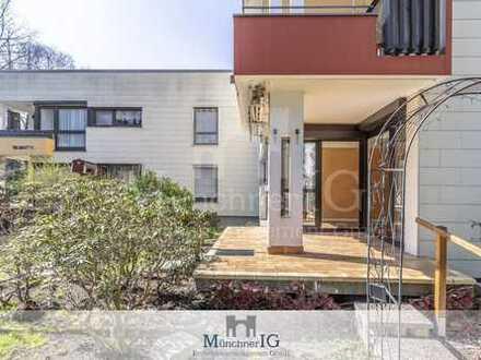MÜNCHNER IG: Wunderschön geschnittene & helle 3- Zimmer Wohnung in ruhiger u grüner Lage