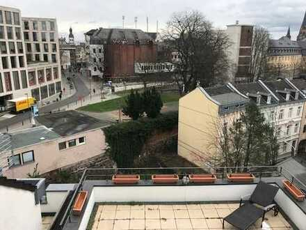 Zentrum, Thomas-Mann-Str., oberste Einheit 2,5 Et. (2.3.4.Stock) 150qm² + 30qm² Dachterasse, 3,5-Zi