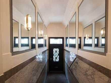 Df.-Oberkassel: 5-Raum-Wohnung mit Dachterrasse in sehr reizvollem Altbau