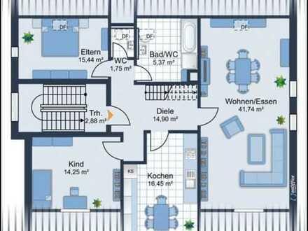 Riesengroße 4 Zimmer DG Maisonette Wohnung mit 160m² - WG geeignet