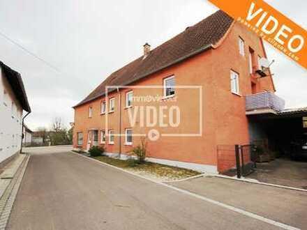 Historisches Mehrfamilienhaus mit Pizzaria in Binswangen! Hohe Förderung möglich!