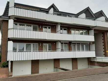 Vollständig renovierte 3-Raum-Wohnung mit Balkon und Einbauküche in Delmenhorst