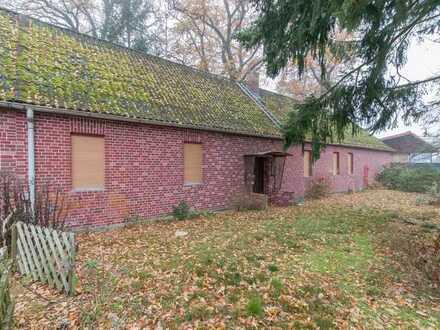 Einfamilienhaus mit Doppelgarage und Werkstatt