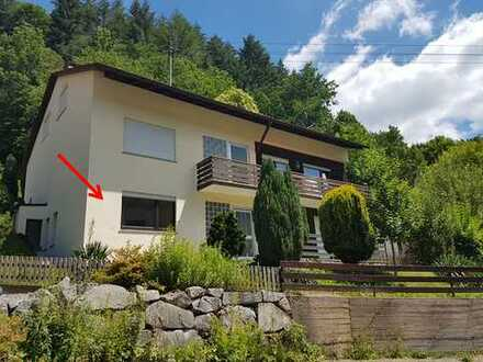 Renovierte 1-Zimmer-Wohnung / Ferienwohnung mit Einbauküche und Panoramablick