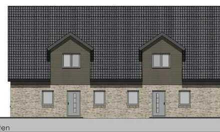 Neubau-Doppelhaushälfte in Großenwiehe