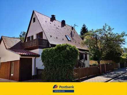 Hübsches, kleines Einfamilienhaus mit kleinem Garten in Schwaig b. Nürnberg !