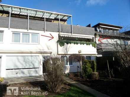 Bonn-Buschdorf - Gepflegte 3,5-Zimmer Wohnung mit Loggia und eigenem Stellplatz für Kapitalanleger