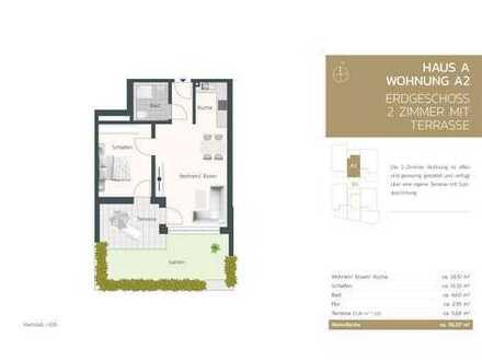 2 -Zimmer Wohnung mit Garten und Terrasse + ideal für Kapitalanleger