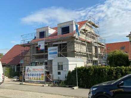 Ab April 202: Doppelhaushälfte mit Garten in Leipzig-Engelsdorf