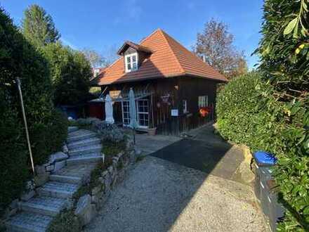 Gemütliches Holzhaus im schönen Hexental - in Wittnau bei Freiburg (Panoramablick,Holzofen)