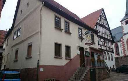 Neckarsteinach Altstadthaus Wohnen und Gewerbe unter einem Dach