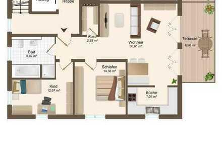 ERSTBEZUG - exklusive 3 ZKB EG Wohnung mit Terrasse und TG -Stellplätzen in Bestlage von Beilngries