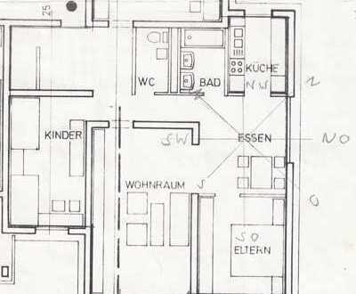 Gepflegte und geräumige 4,5-Zi-Erdgeschoß-Wohnung mit Garage in Wörth am Rhein, Maximiliansau