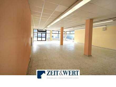 Weilerswist! 300 m² Ladenlokal mit großer Schaufensterfläche! (OK 3469-K)