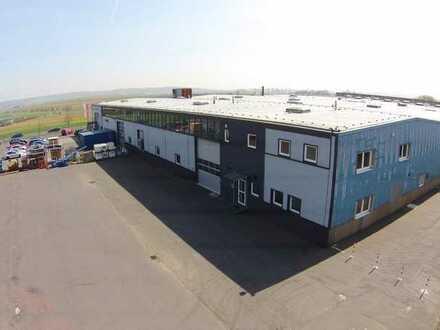 """PROVISIONSFREI"" 576 Lager-/Produktionsfläche in Butzbach direkt an der A5 zu vermieten"