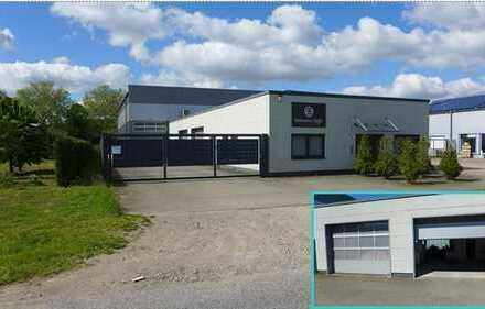 Gewerbehalle mit Büroräumen/-Mobiliar im Gewerbegebiet Bocholt-Holtwick zu vermieten