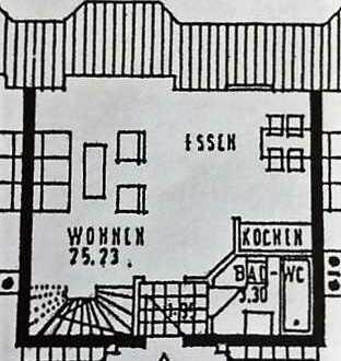 Sonnige 1,5 ZKnB Maisonette Wohnung in kleiner Wohnanlage