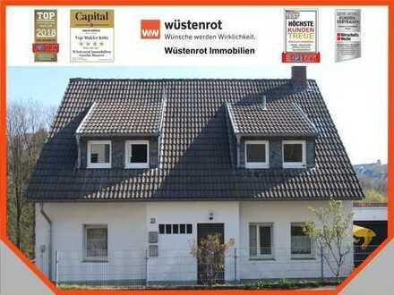 AUFGEPASST! Wohnen mit der ganzen Familie! Renoviertes 2-Familienhaus mit Baugrundstück in Remscheid