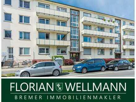 Bremen - Findorff | Helle Wohnung mit 2 großzügigen Balkonen im Herzen Findorffs