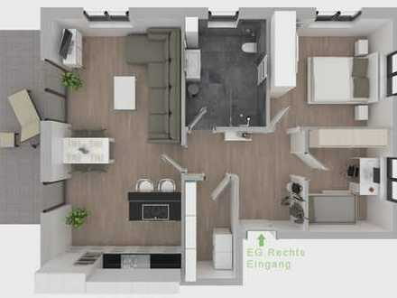 EG-Neubauwohnung in bevorzugter Wohnlage