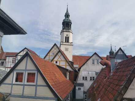 Gemütliche 2-Zimmer-Wohnung mit Blick auf die Stadtkirche!