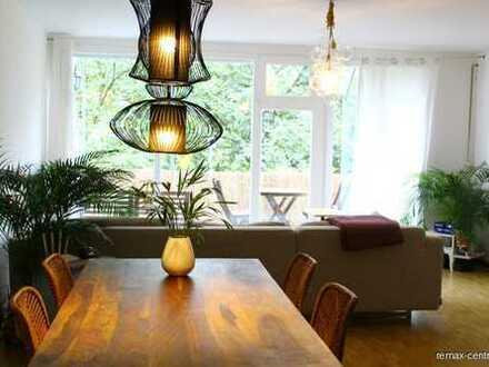 Extravagente 3-Zimmer Wohnung, möbliert in Sendling für 12 Monate!