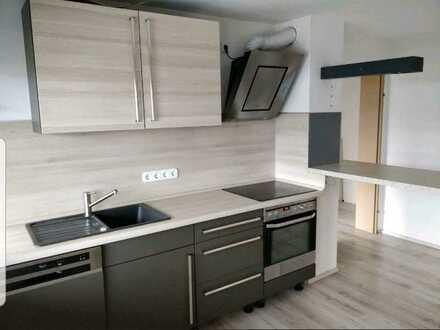 2,5-Zi-Wohnung mit Einbauküche, Terrasse, Garten max. 2 Personen