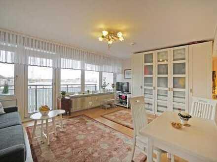 Sonniges und perfekt geschnittenes Appartement mit Blick auf Olympiaturm