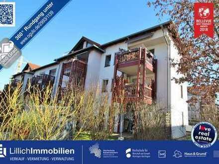 Provisionsfrei und sofort zum Bezug: Schöne 2-Zimmerwohnung mit Balkon und Tiefgaragenplatz