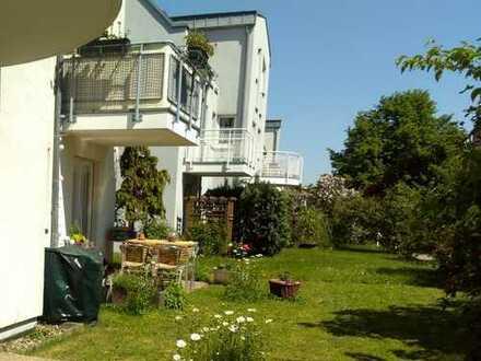 2-Raum-Wohnung mit Terrasse und Gartenanteil in gefragter ruhiger Lage
