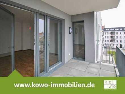 Exklusive 5-Raumwohnung mit Echtholzparkett, Fußbodenheizung und Loggia!
