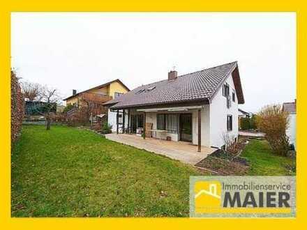 Freistehendes 1-2-Familienhaus in schöner Feldrandlage mit attraktiven Gestaltungsmöglichkeiten!