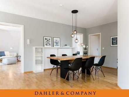 Schicke Maisonette-Wohnung im beliebten Holzhausenviertel
