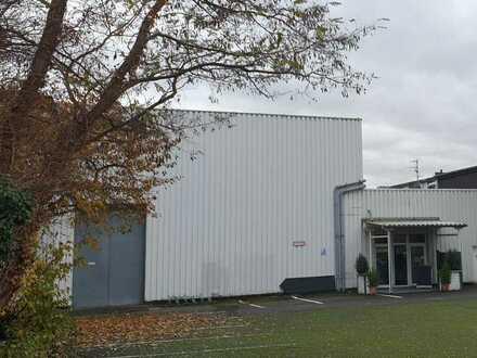 Halle mit Büro- Sozial- und Freiflächen - Lager / Produktion / Sport --- keine Veranstaltung!!