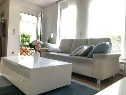 Gepflegte & ruhige 3-Zi.-Gartenwohnung mit Hobby- Sportraum