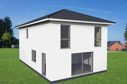 * * * Stein auf Stein gemauert - Neubau in Rimbach-OT * * *