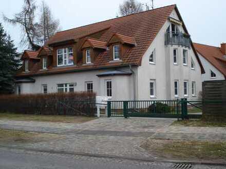 Gepflegte 3-Zimmer-Erdgeschosswohnung mit Terrasse und EBK in Königs Wusterhausen OT Wernsdorf