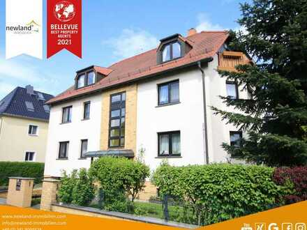 Neuwertiges Mehrfamilienhaus für Zweifamilien oder Kapitalanlage mit zus. Baugrundstück in Leipzig!